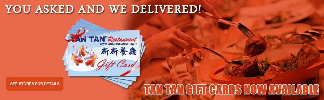 Tan Tan New Gift Cards
